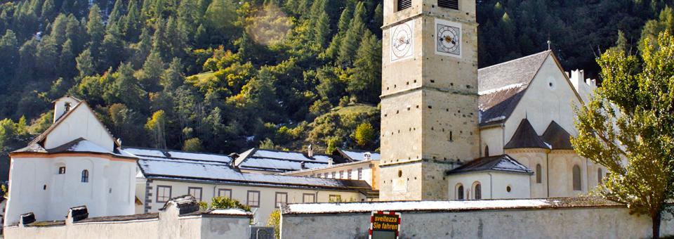 Convent of St. John, Val Müstair, Switzerland