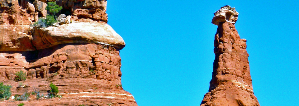 Kachina Woman hoodoo, entrance to Boynton Canyon, Enchantment Resort, Sedona, Arizona