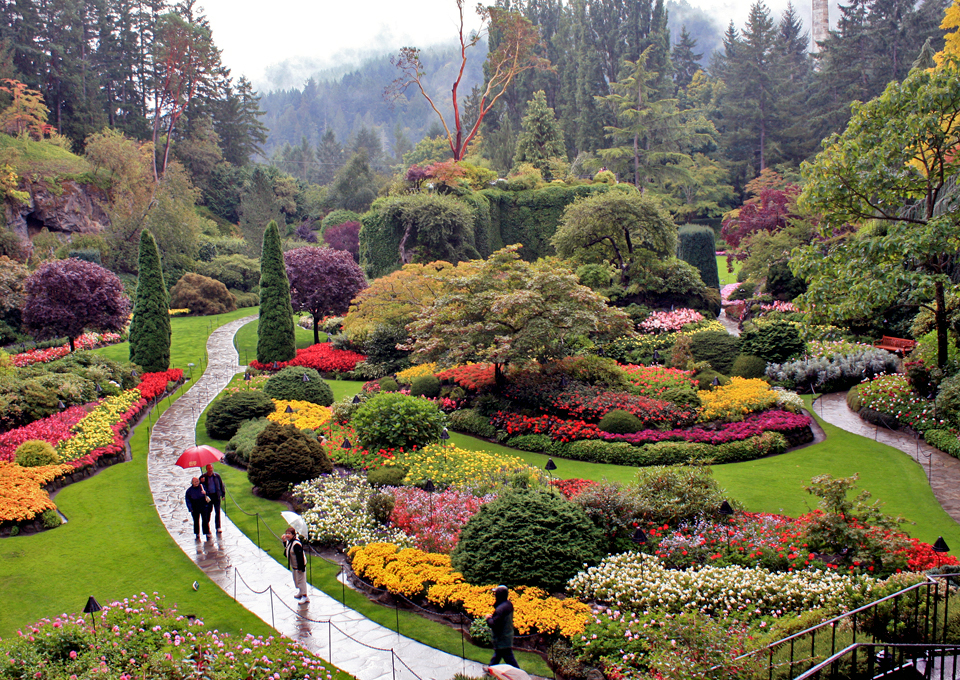 Butchart Gardens, Brentwood Bay, British Columbia