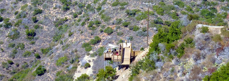 ziplining, Catalina Island, California
