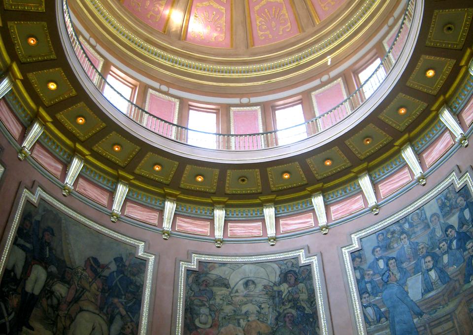 Capitol dome, Montgomery, Alabama