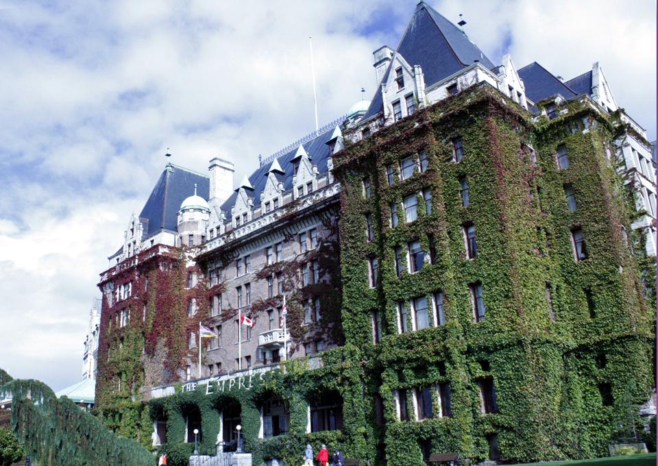 Fairmont's Empress Hotel, Victoria, British Columbia