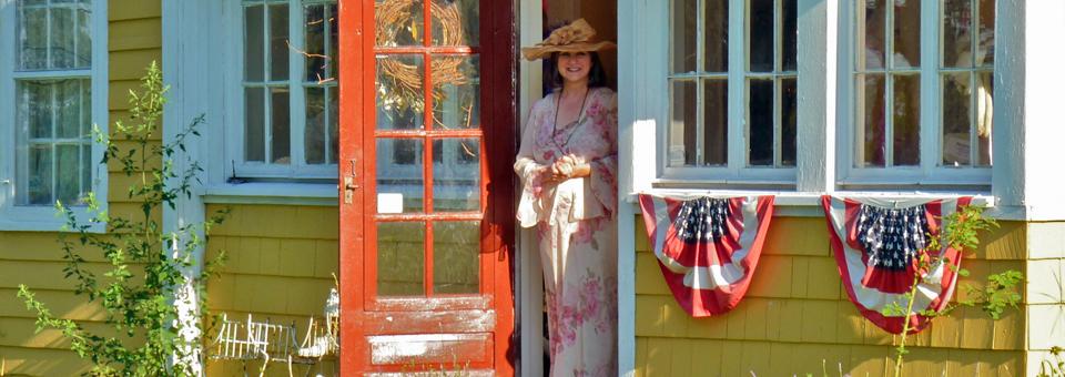 Kathleen Tully Houser, Grandma Hattie's Tea Party, Victor, New York