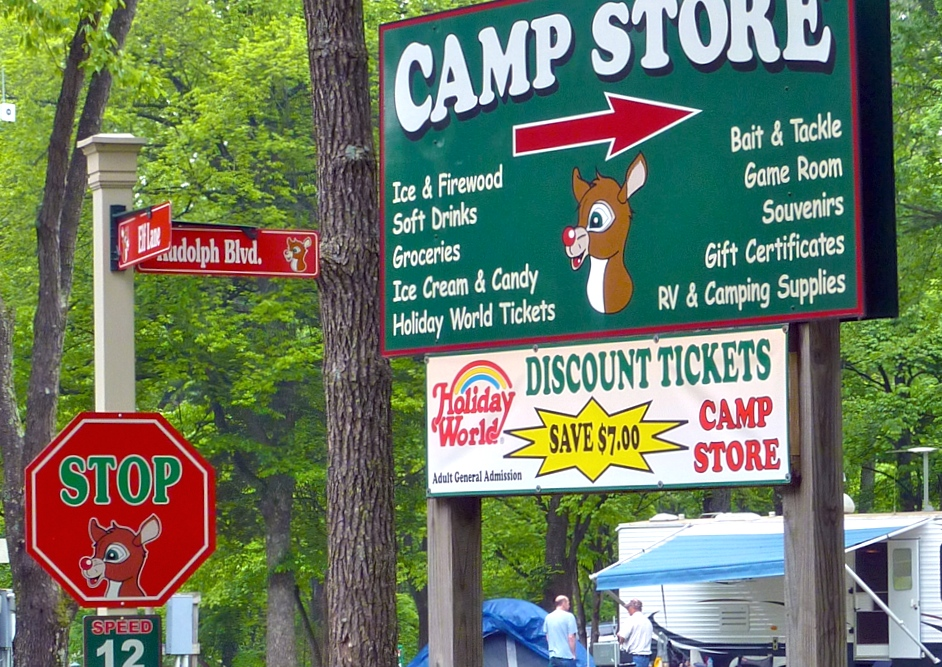 Lake Rudolph Campground & RV Resort, Santa Claus, Indiana