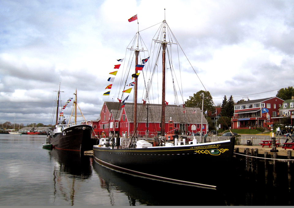 The Bluenose II, Lunenburg, Nova Scotia