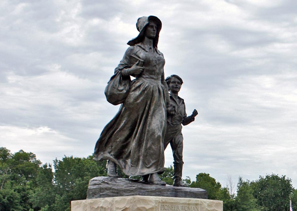 Pioneer Woman Statue, Ponca City, Oklahoma