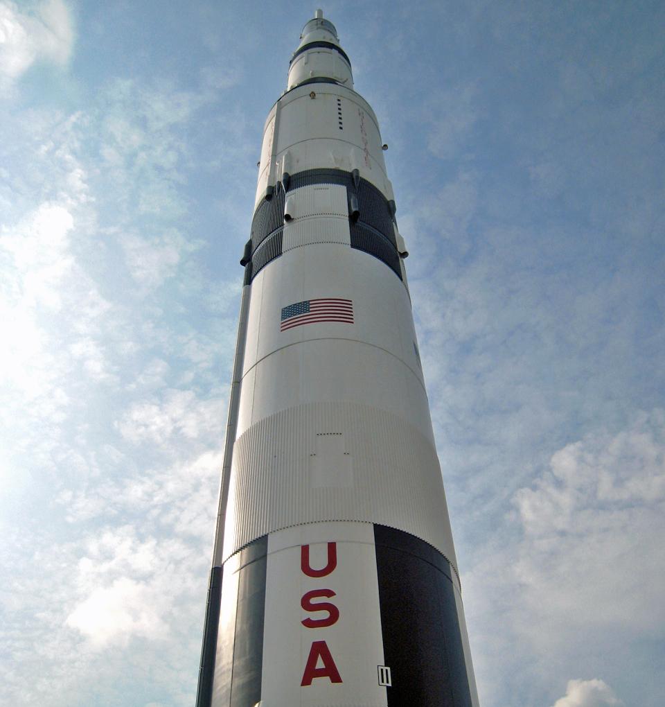 Saturn V rocket, Huntsville, Alabama