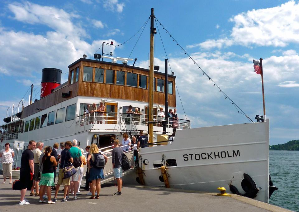 Strömma Kanalbolaget's Stockholm in Vaxholm