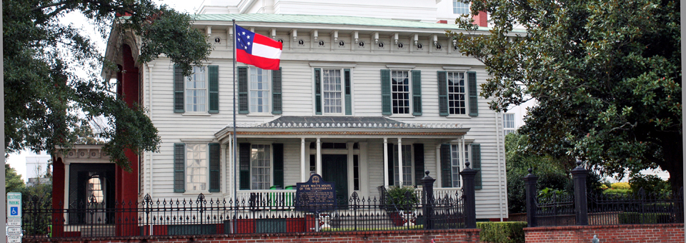 The First White House of the Confederacy, Montgomery, Alabama