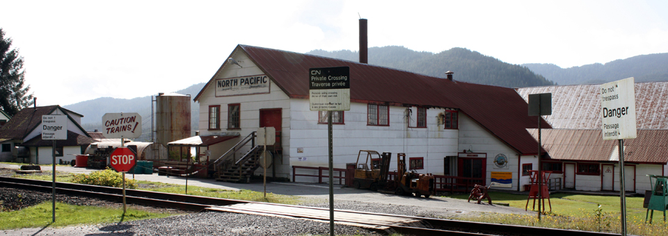 The North Pacific Cannery and Historic Fishing Village