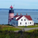 Where time is measured by the sun and tides: the northeast coast of Maine