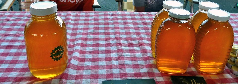 honey, Canandaigua Farmers Market, New York