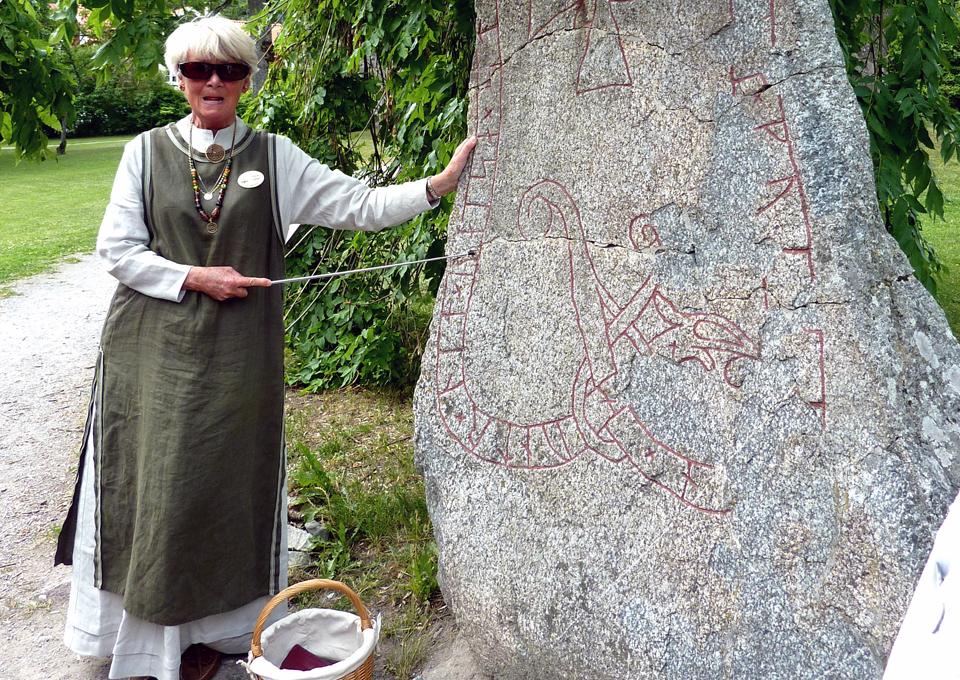 rune stone, Sigtuna, Sweden