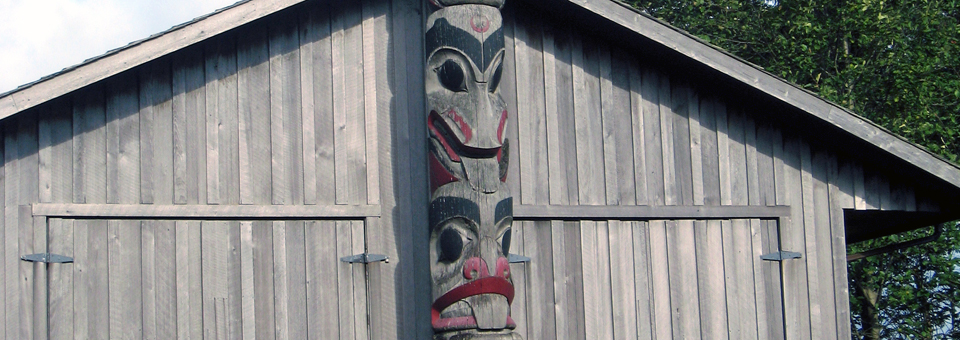 totem pole, Prince Rupert Carving Shed