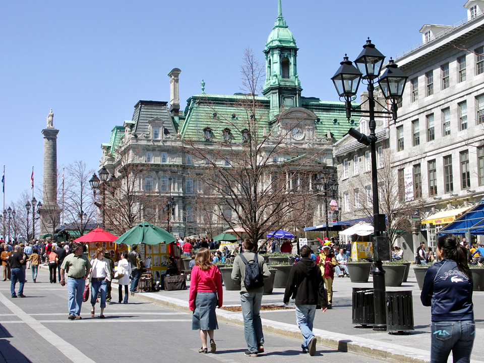 Place Jacques Cartier, Montreal, Canada