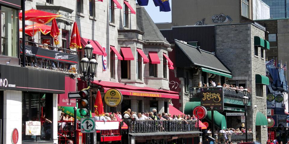 Crescent Street, Montreal, Canada