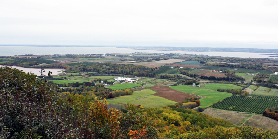 Annapolis Valley, Nova Scotia, from The Lookoff
