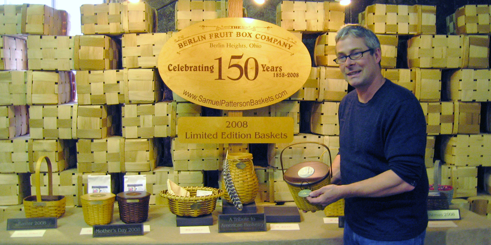 Matt Adelman, 6th generation at Berlin Fruit Box Company, Berlin, Ohio