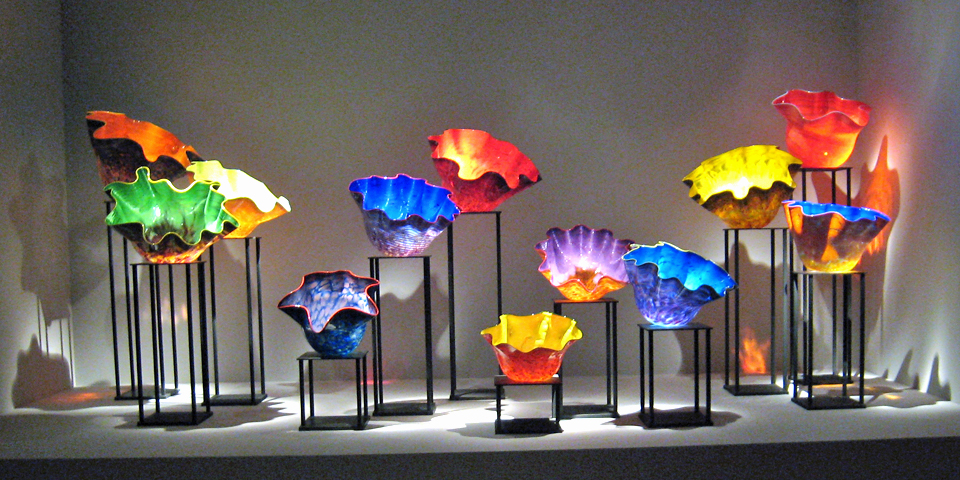Chihuly exhibit, Oklahoma City Museum of Art