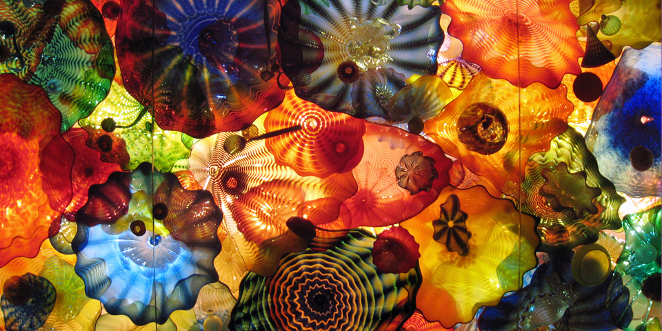 Chihuly ceiling, Oklahoma City Museum of Art