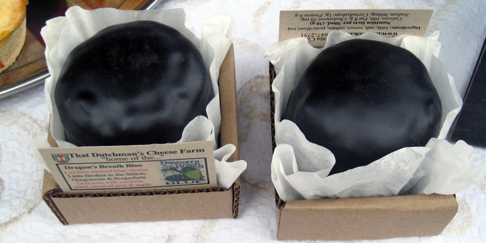 Dragon's Breath Blue Cheese, That Dutchman's Farm, Upper Economy, Nova Scotia
