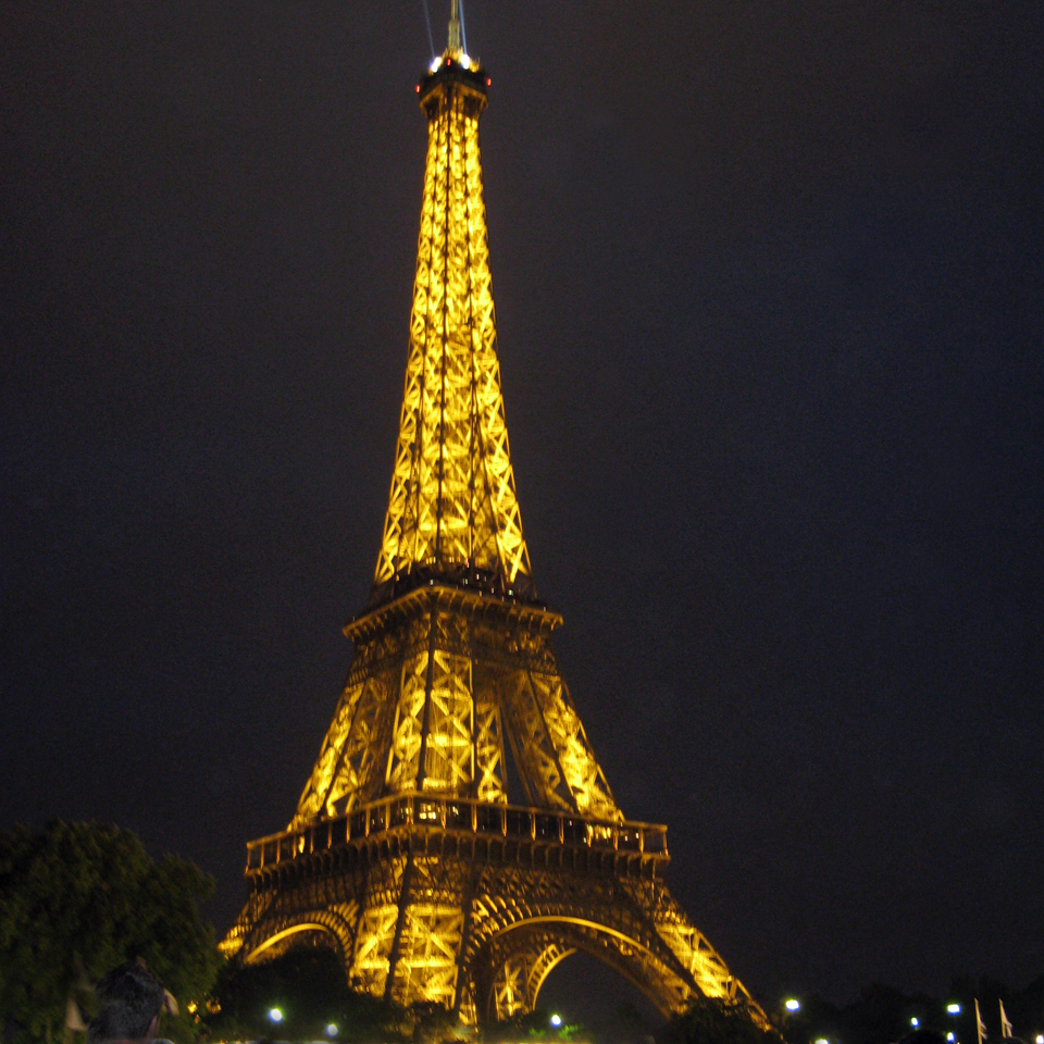 The Eiffel Tower has become the symbol of the city of Paris.