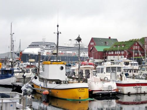 To—rshavn's harbor, Faroe Islands