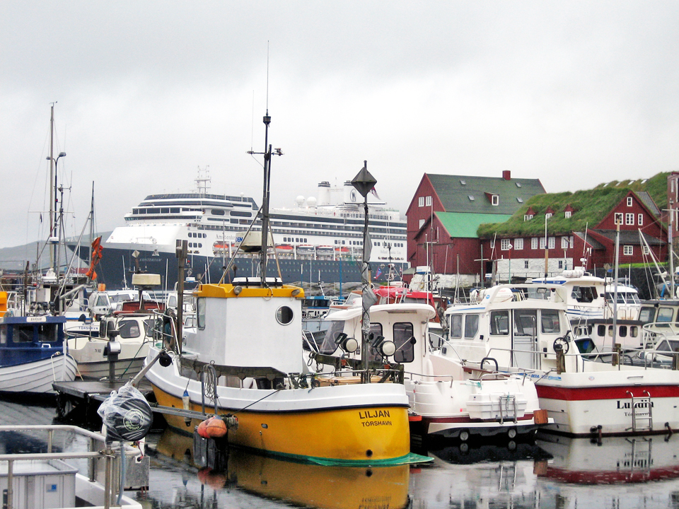 To—rshavn's harbor, Faroe Islands