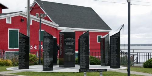 Fishermen's memorial, LunenburgNova Scotia