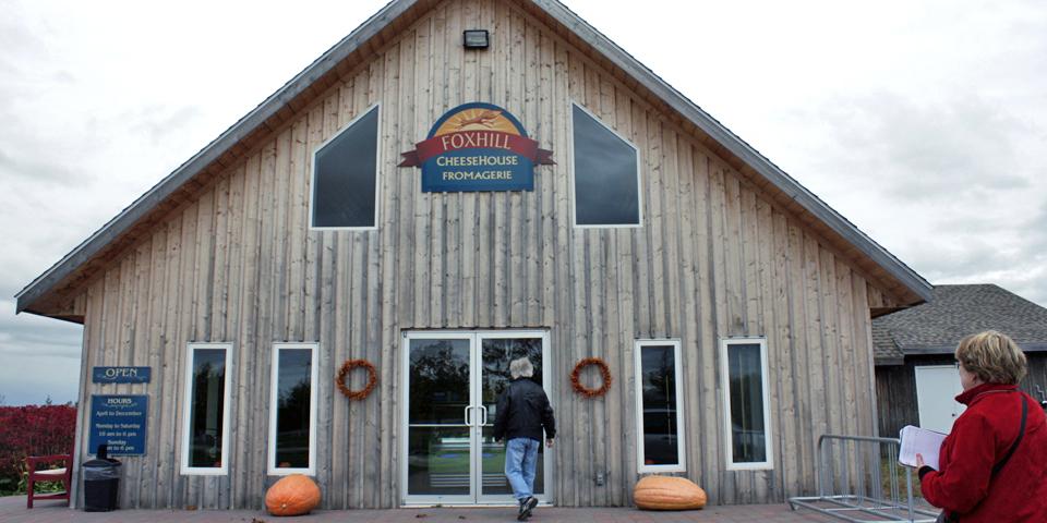 Foxhill Cheese House, Port Williams, Nova Scotia