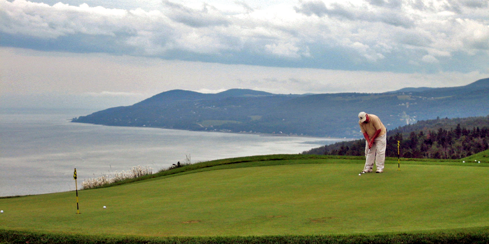 golf at Manoir Richelieu, Charlevoix, Quebec, Canada