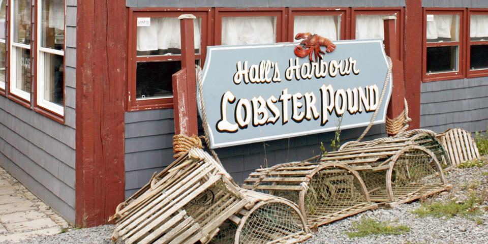 Hall's Harbour Lobster Pound & Restaurant, Nova Scotia