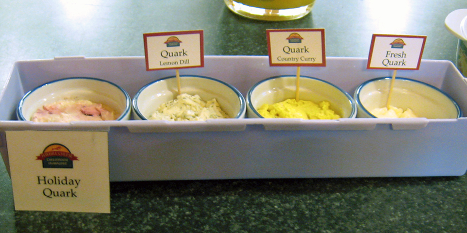 holiday quark, Fox Hill Cheese House, Wolfville Farmers' Market, Nova Scotia