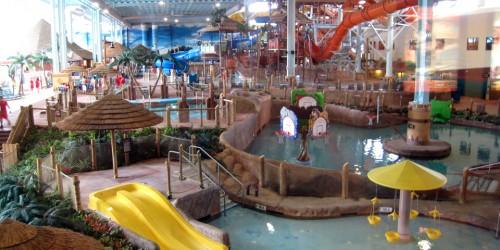 Kalahari indoor water park, Sandusky, Ohio