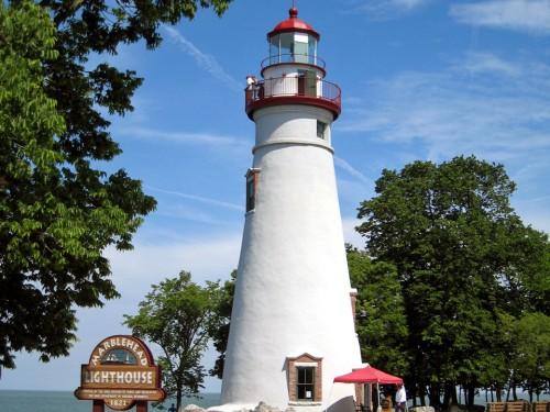Marblehead Peninsula lighthouse, Ohio