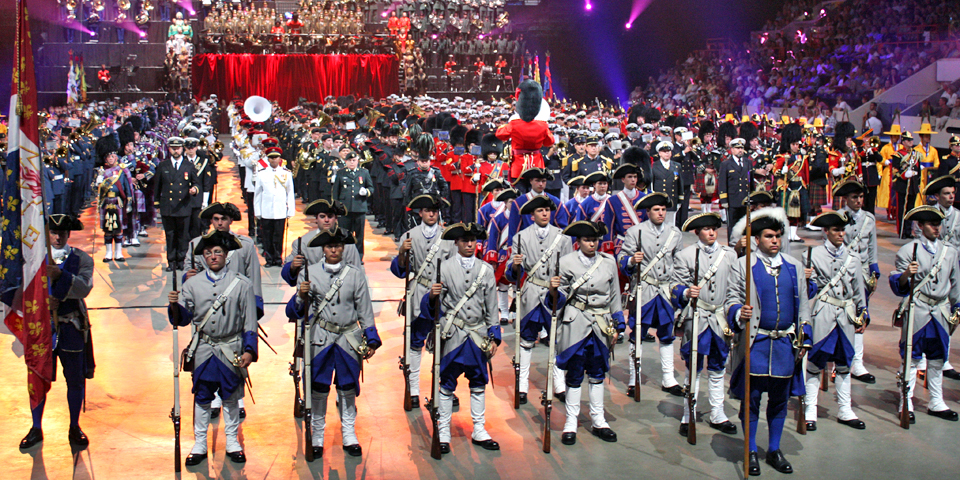 Military Tattoo, Quebec City's 400th Anniversary Celebration