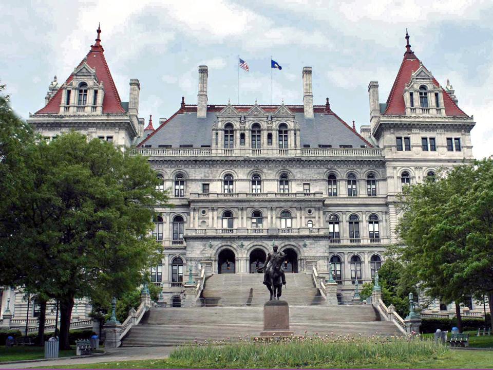 NY State Capitol, Albany, New York