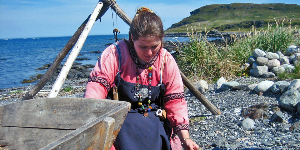 Norstad Viking Trade Village, Newfoundland