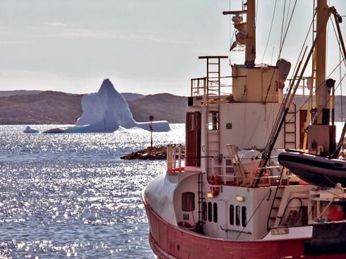 Qaqortoq fishing boat