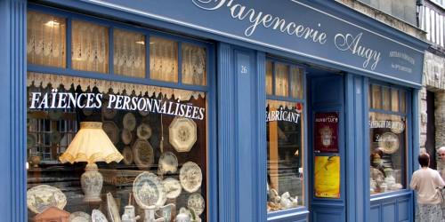 faience shop, Rouen, France