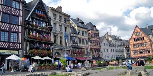 Rouen Market Square, France