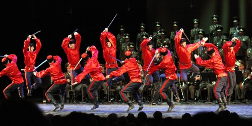 Russian Alexandrov Red Army Choir and Ensemble, Québec City 400th Anniversary, Canada