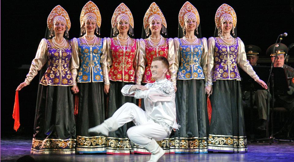 Russian dancers, Québec City 400th Anniversary, Canada