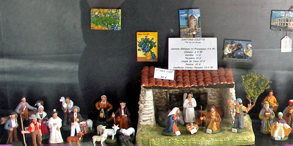 crèche of santons