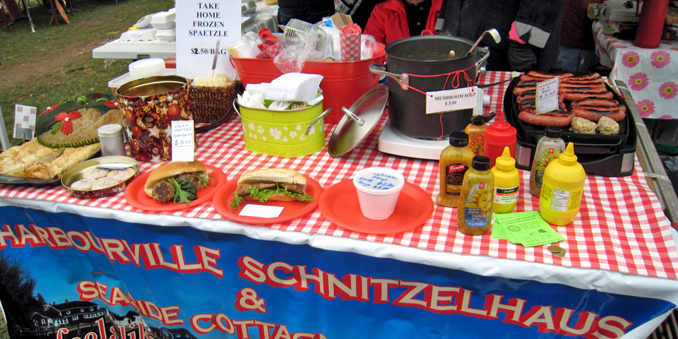 Schnitzel, Wolfville Farmers Market, Nova Scotia