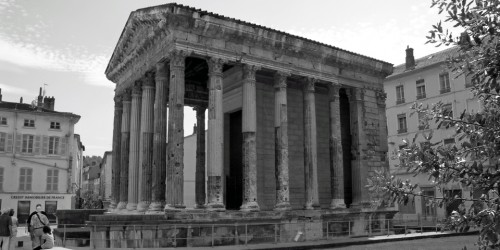 The Temple of Augustus and Livia is one of Vienne's reminders of its Roman past.