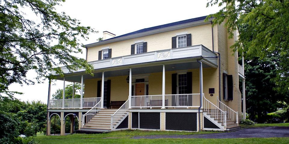 Thomas Cole house, Thomas Cole National Historic Site, Cedar Grove, Catskill, New York