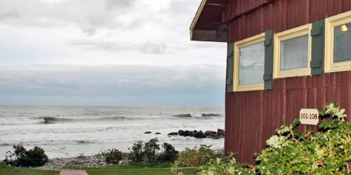 seaside cottage, White Point Beach Resort, Nova Scotia