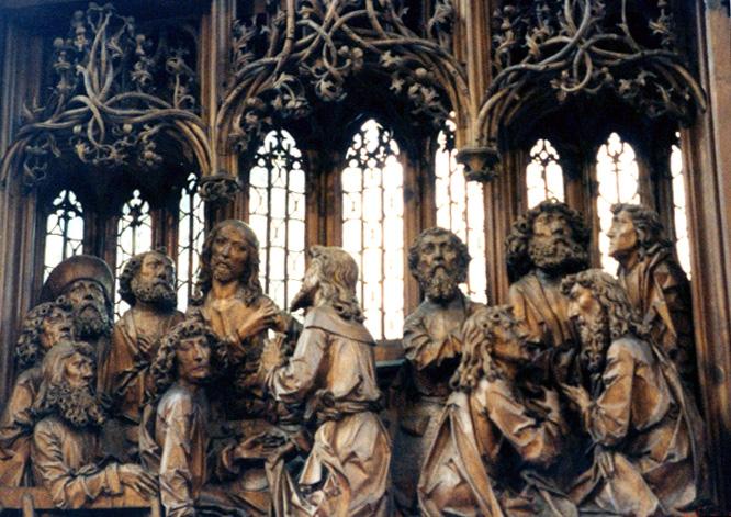 Riemenschneider altar, Rothenburg