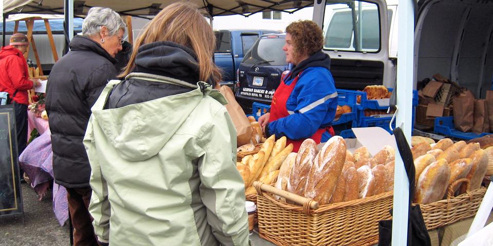 breads, Wolfville Farmer's Market, Nova Scotia